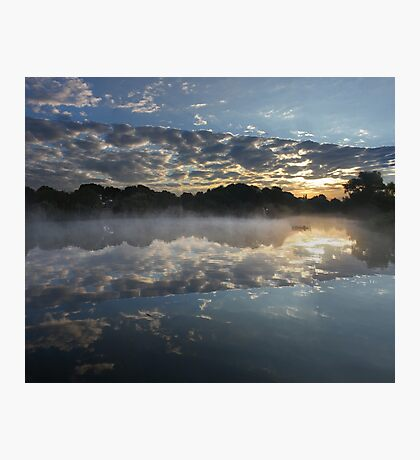 The Crack In The Lake Photographic Print