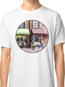 Boston MA - Street With Candy Store and Bakery Classic T-Shirt