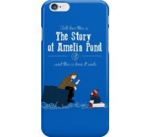 The story of Amelia Pond iPhone Case/Skin