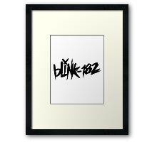 blink 182 Framed Print