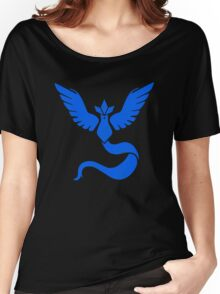 PokemonGO Mystic Blue Team Women's Relaxed Fit T-Shirt