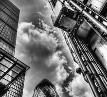 City of London Iconic Buildings by DavidHornchurch