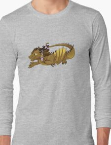 Coffee Dragon Long Sleeve T-Shirt