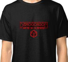 Demogorgon We're So Screwed Stranger Things  Classic T-Shirt