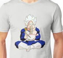 Goku eating Noodles - DBZ Unisex T-Shirt