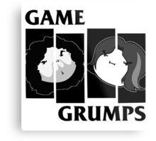 Game Grumps Black Flag Metal Print