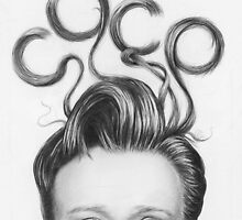 Conan's Crazy Hair COCO by OlechkaDesign