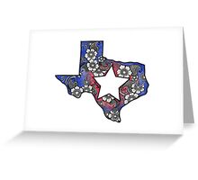 Lone Star State - Texas  Greeting Card