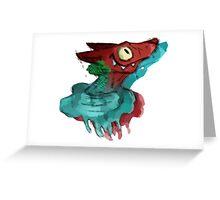 something's fishy... Greeting Card
