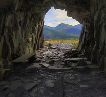 Light at the end of the tunnel by Ian Mitchell