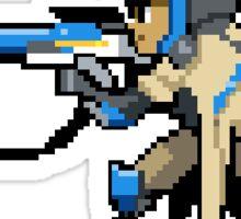 Ana - Pixel Spray Sticker