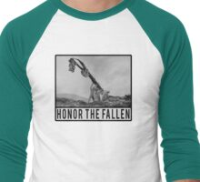 Honor the Fallen - Sloth Iwo Jima Men's Baseball ¾ T-Shirt