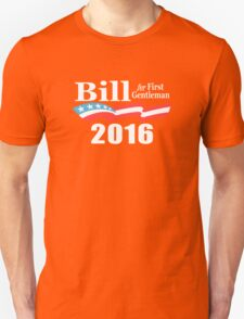 Bill Clinton First Gentleman Unisex T-Shirt