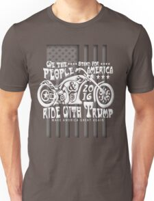 Bikers for Trump 2016 We The People Unisex T-Shirt