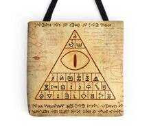 bill cipher page Tote Bag