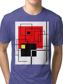 Red Square Tri-blend T-Shirt