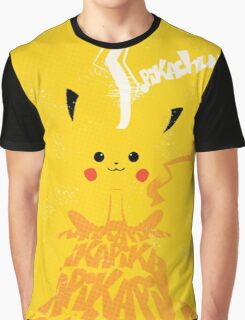 Vintage Pikachu Graphic T-Shirt