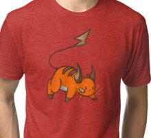 Shiny Raichu Tri-blend T-Shirt