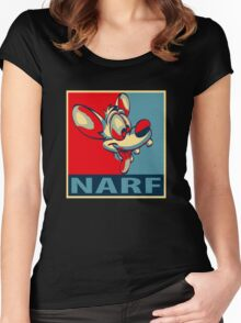 NARF! Women's Fitted Scoop T-Shirt