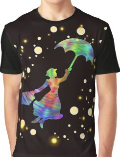 Mary Poppins- The Magical Nanny Graphic T-Shirt