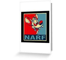 NARF! Greeting Card