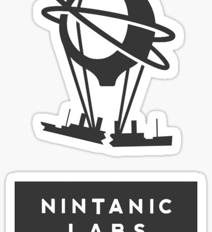 Nintanic titanic parody Sticker