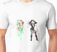 Ivy+Cat splatter Unisex T-Shirt
