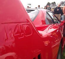 Ferrari F40  by xMcSpeedyx