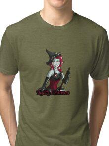 Lady Crimson (Light Designs) Tri-blend T-Shirt