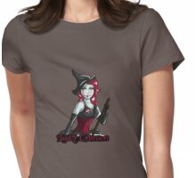 Lady Crimson (Light Designs) Womens Fitted T-Shirt