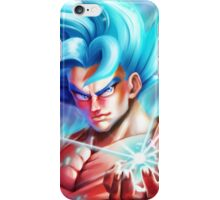 Goku Super Saiyan Blue - DBZ iPhone Case/Skin