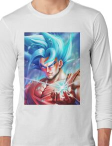 Goku Super Saiyan Blue - DBZ Long Sleeve T-Shirt