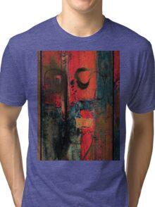 red wall Tri-blend T-Shirt