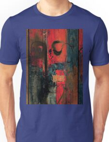 red wall Unisex T-Shirt