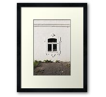window monastic cell  Framed Print