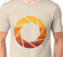 70s Modern Portal Aperture Logo (Hot) Unisex T-Shirt