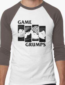 Black Flag Grumps Men's Baseball ¾ T-Shirt