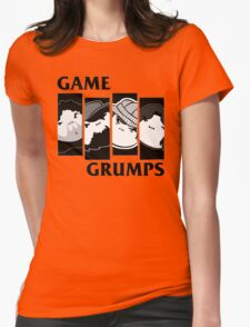 Black Flag Grumps Womens Fitted T-Shirt