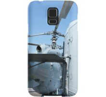 Attack helicopter rear view Samsung Galaxy Case/Skin