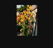 Flowers through the Bench Unisex T-Shirt