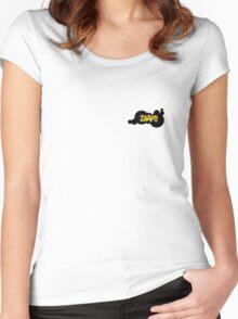 Batman Zaap Women's Fitted Scoop T-Shirt