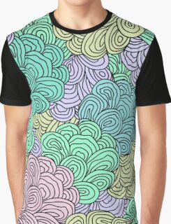 Seamless Abstract Pattern Graphic T-Shirt