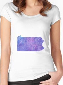 Pennsylvania Women's Fitted Scoop T-Shirt