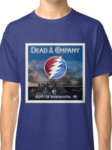 DEAD AND COMPANY SUMMER TOUR 2016 NOBLESVILLE INDIANA Classic T-Shirt