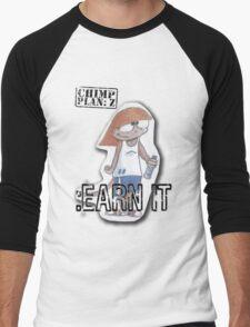 Peep Earn It - Chimp Plan: Z Men's Baseball ¾ T-Shirt