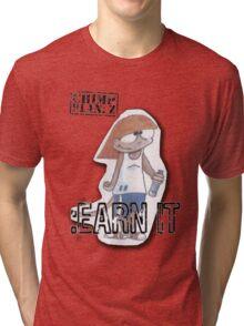 Peep Earn It - Chimp Plan: Z Tri-blend T-Shirt