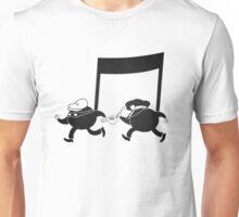 Chase scene music. Unisex T-Shirt