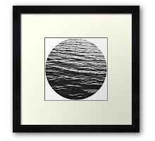 Water. Framed Print