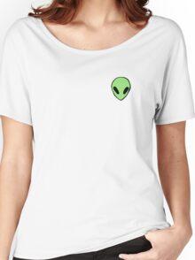 green alien Women's Relaxed Fit T-Shirt