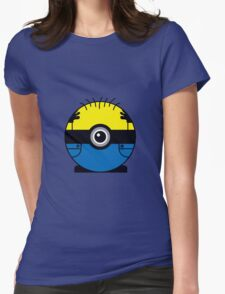 Minion GO! Womens Fitted T-Shirt